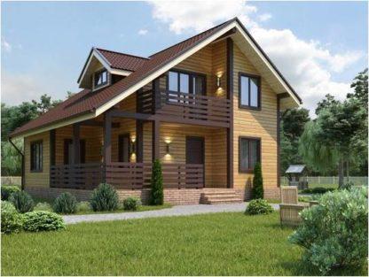 Проект дома С-5 9х10 (136 м.кв.)