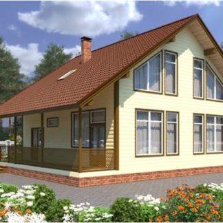 Проект дома С-8 10х12 (195 м.кв.)