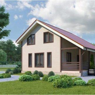 Проект дома С-8 (9х9,5) 123 м.кв.