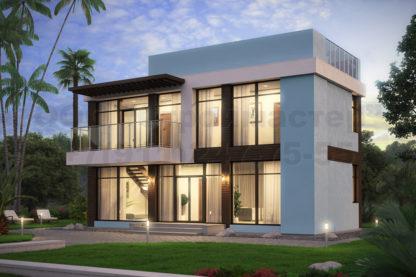 Проект дома Ф-2 — 116 м2 (12 х 6)