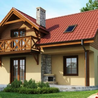 Проект дома №Z3 — 118 м2 (9,08 х 8,28)