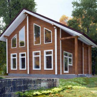 Проект дома № С3 — 120 м2 (7,5 х 10)