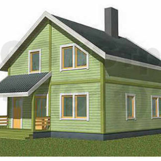 Проект дома №АД-028 — 126 м2 (9 х 8)