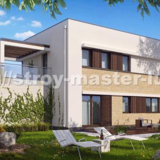 Проект дома №ZX63 — 116 м2 (13,44 х 8,94)