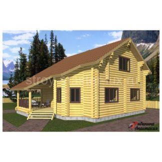 Проект дома №1 — 144 м2 (9,6 х 11,6)