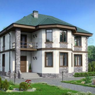 Проект дома № С-9 — 145 м2 (10,3 х 11,6)