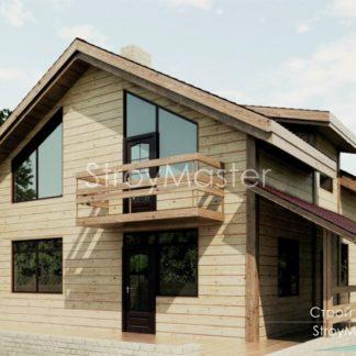 Проект дома № АД-015 — 148 м2 (8,5 х 8)
