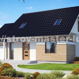 Проект дома № Z114 — 150 м2 (13,38 х 9,48)