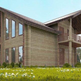 Проект дома № С4 — 151 м2 (9 х 9)
