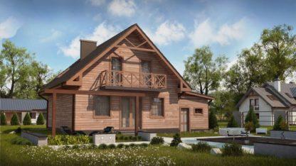 Проект дома № 110 — 152 м2 (11,78 х 9,4)