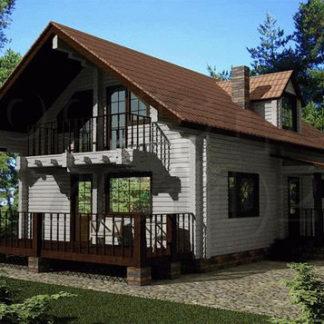 Дом № АД-031 — 157 м2 (7,2 х 13)