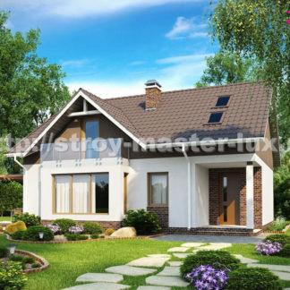 Проект дома № Z128 — 157 м2 (11,28 х 9,78)
