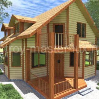 Проект дома № 31 — 158 м2 (14,6 х 9)