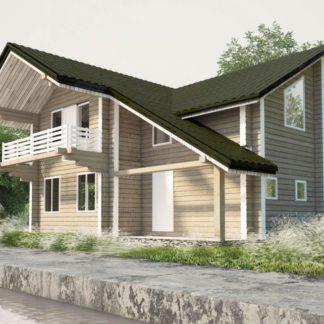 Проект дома № С5 — 158 м2 (10 х 9)