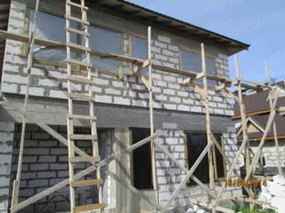 Проект дома № 740 — 162 м2 (12,48 х 11,58)