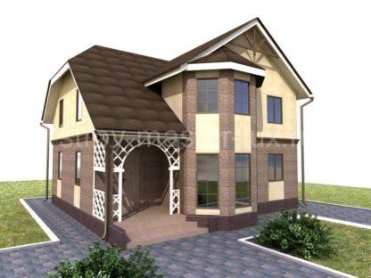 Проект дома №33 — 164 м2 (11,7 х 13)