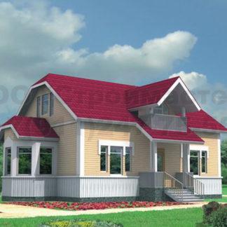 Проект дома № АД-040 — 164 м2 (11 х 9,35)