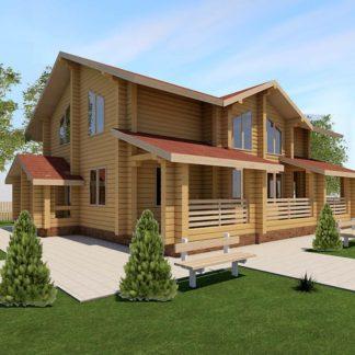 Проект дома № С7 — 175 м2 (11,5 х 11,3)