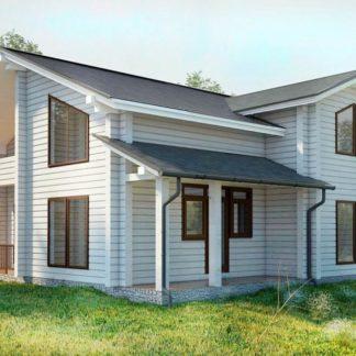 Проект дома № С8 — 177 м2 (10,56 х 9,67)