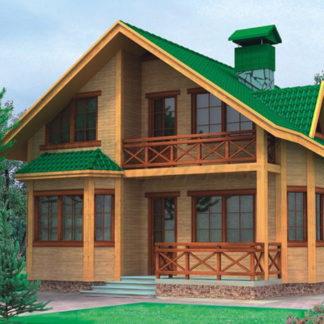 Проект дома №АД-014 — 133 м2 (8,3 х 10,85)
