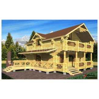 Проект дома №5 — 182 м2 (9,1 х 9,7)