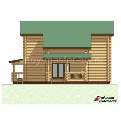 Проект дома №10 — 189 м2 (11,7 х 14,2)