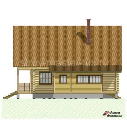 Проект дома №6 — 195 м2 (12,55 х 11,65)