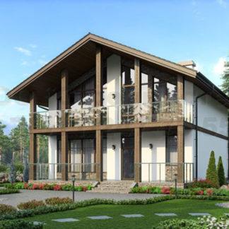 Проект дома С-8 — 203 м2 (10,4 х 12,4)