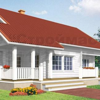 Проект дома № АД-039 — 207 м2 (11,8 х 10,75)