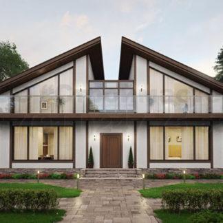 Проект дома № С-7 — 224 м2 (10 х 15)