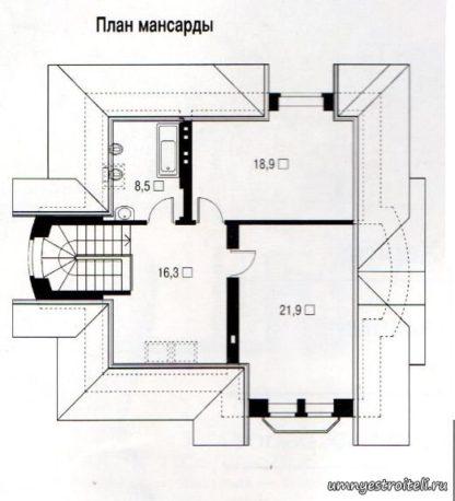 Проект дома ГБН-03 - 155 м2