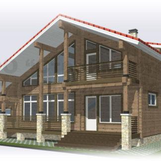 Дом № АД-042 — 244 м2 (13,56 х 14,1)
