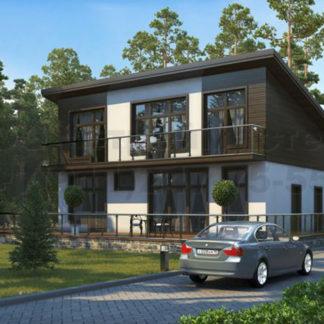 Проект дома № С-2 — 250 м2 (11 х 13)