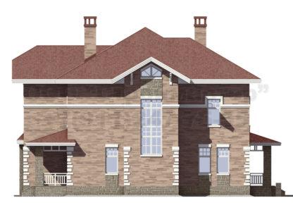 Проект дома № С-14 — 276 м2 (12 х 13)