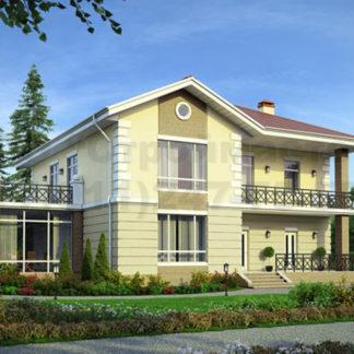 Проект дома № Б-4 — 390 м2 (14 х 16)