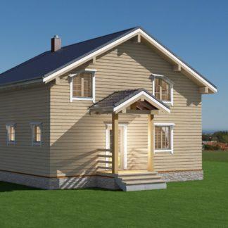 Проект дома № 1492 — 154 м2 (9 х 9)