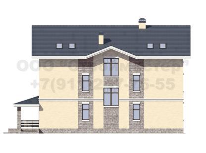 Проект дома № Б-13 — 450 м2 (13 х 16)