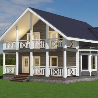 Проект дома №1773 — 214 м2 (10 х 13)