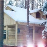 фото готовых домов из профилированного бруса Photos prefabricated houses from profiled timber