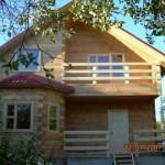 красивые дома из профилированного бруса фото beautiful houses from profiled timber photo