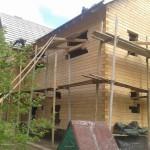 дома из профилированного бруса проекты фото House of shaped timber photo projects