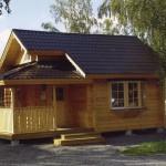 дома из профилированного бруса фото House of shaped timber photo