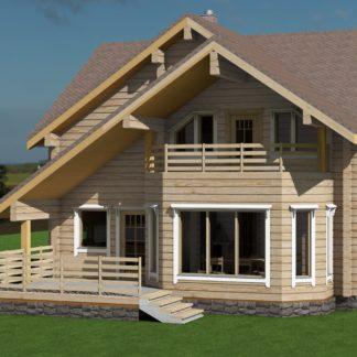 Проект дома № 2753 — 180 м2 (9 х 11)