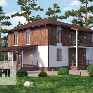 Проект загородного дома №11 - 221,7 м2 (11,3х13,1)