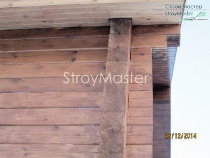 Проект дома с террасой №592 — 105 м2 (7,8 х 9)
