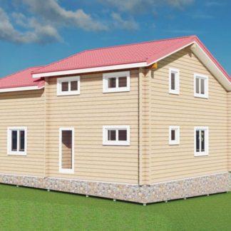 Проект дома № 769 — 130 м2 (10 х 8)