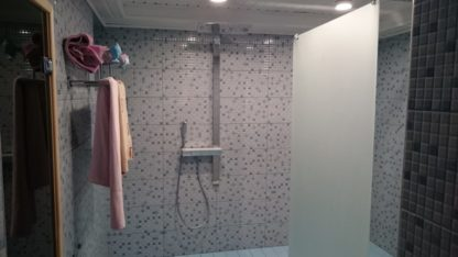 Проект бани № 829 — 90 м2 (8,35 х 9)