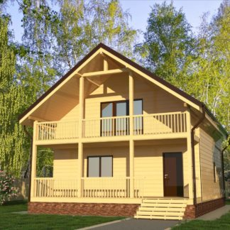 Проект дома № 822 — 155 м2 (7,9 х 10,775)