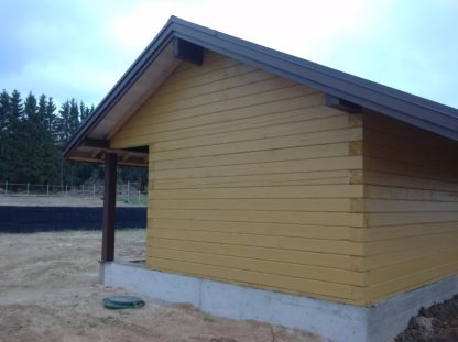 Проект бани №Б8 — 98 м2 (18,65 х 6)