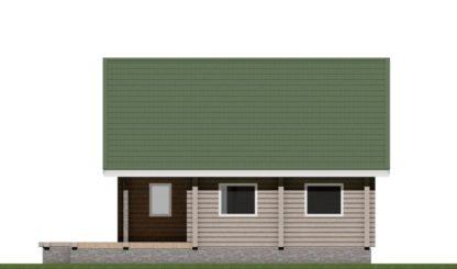 Дом с террасой № 26 — 163 м2 (9,8 х 11,55)